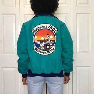 Vintage Native Alaska Kotzebue Fleece Lined Jacket